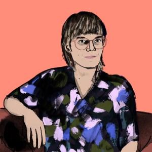 Svenja Gräfen für Große Töchter Podcast   Beatrice Frasl   Illustration: Silke Müller