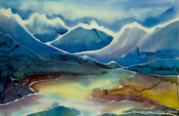 Landscapes  Silk Painting Gallery