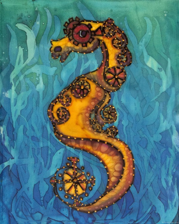 Seahorse Painting Art