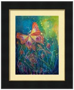 butterfly-fantasy-framed