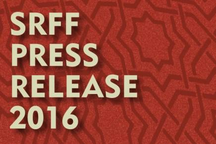 SRFF 2016 – PRESS RELEASE