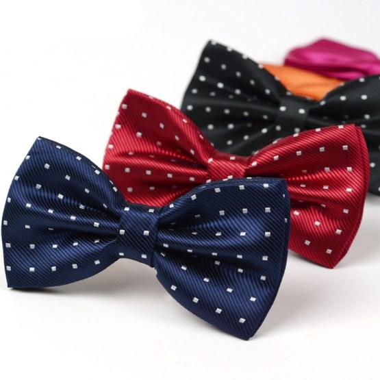 Silk Bowtie - Silk Necktie - Men's Suits Tie SBST 01