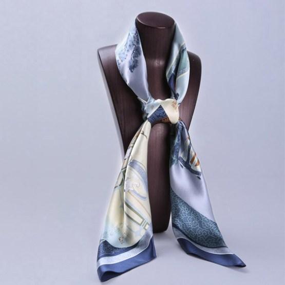 110cm Silk Scarf-SquaAre Silk Scarf-Wholesale Scarfs-HA0013A