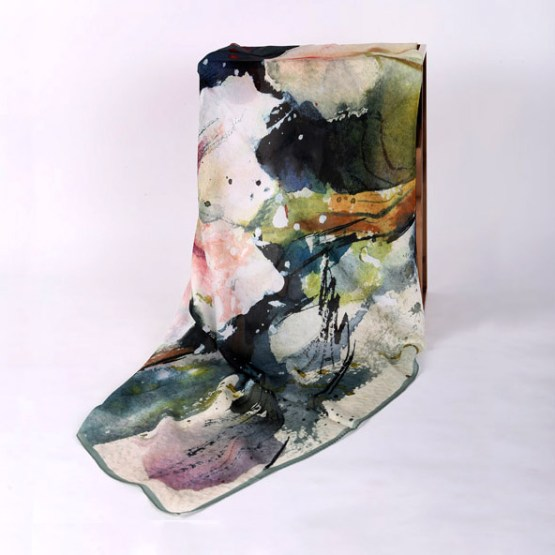 120cm Silk Scarf-Square Silk Scarf-Wholesale Scarfs-HAQ013A