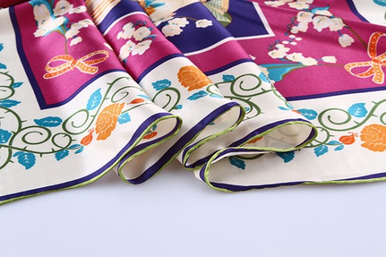 90cm Silk Scarf-Square Silk Scarf-Wholesale Scarfs-HA621A3