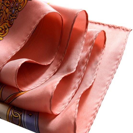 90cm Silk Scarf-Square Silk Scarf-Wholesale Scarfs-HA630A2