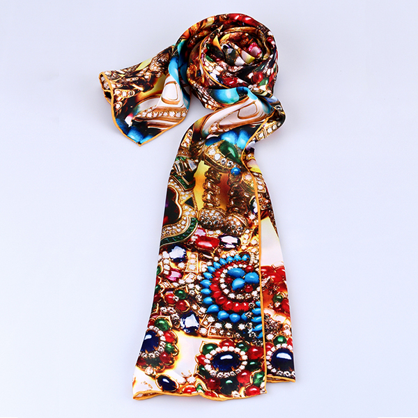 f67797837 Digital Silk Scarf Wholesale China Silk Scarf Factory Hand Made ALL032