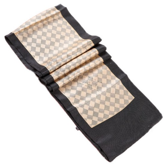 Mens Silk Scarf-Double Layers MSSD015A1