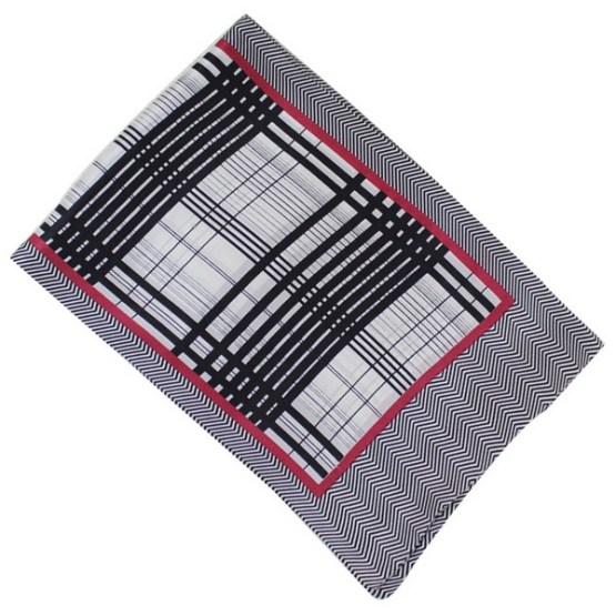 Mens Silk Scarf-Double Layers MSSD017C2