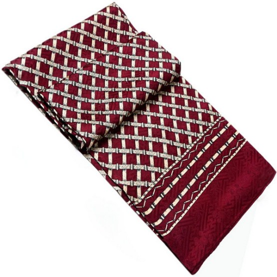 Mens Silk Scarf-Double Layers MSSD019B