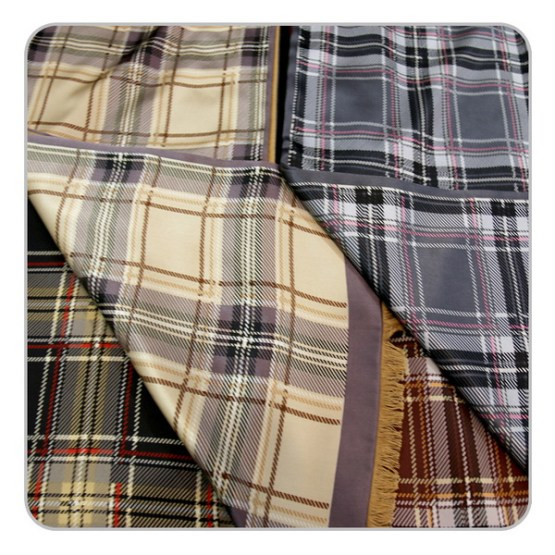 Mens Silk Scarf-Double Layers-Thick MSDT01
