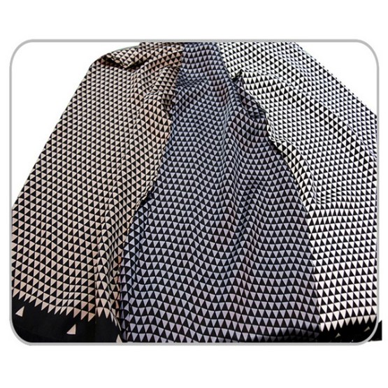 Mens Silk Scarf-Doule Layers with Fringe MSDF07