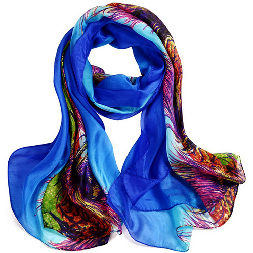 Silk Scarf -Infinity Scarf -Silk PAJ Scarf-Further-SPPU01B