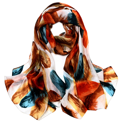 Silk Scarf -Infinity Scarf -Silk PAJ Scarf-Further-SPPU02B