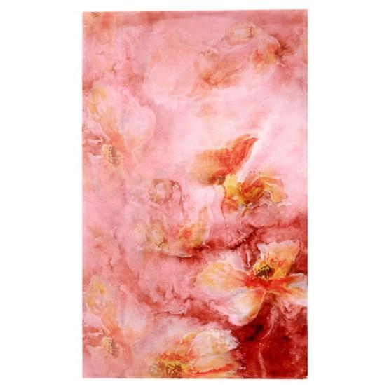 Silk Scarf-Silk Chiffon Scarf-Infinity Scarf-DSC03A
