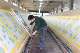 Italian EFI REGGIANI Digital Print Silk, Hand Screen Print Silk, Silk Fabric Print, Custom Silk Scarfs, China Silk Factory, Silk Scarf Wholesale