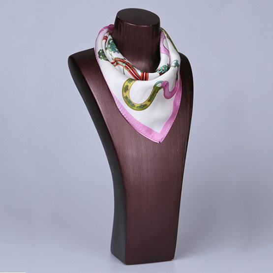 Square Silk Scarf-55CM Silk Scarf-Silk Scarf China- HHS017A
