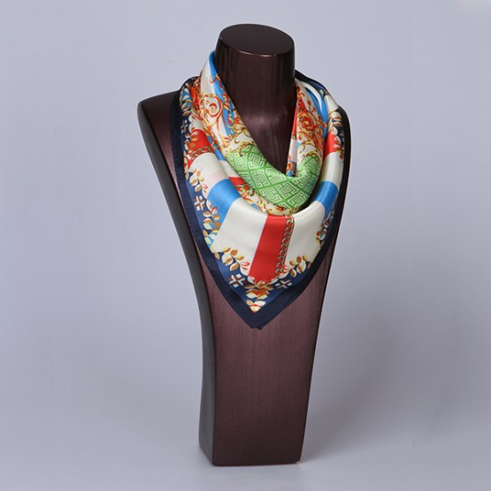 Square Silk Scarf-55CM Silk Scarf-Silk Scarf China- HHS020A