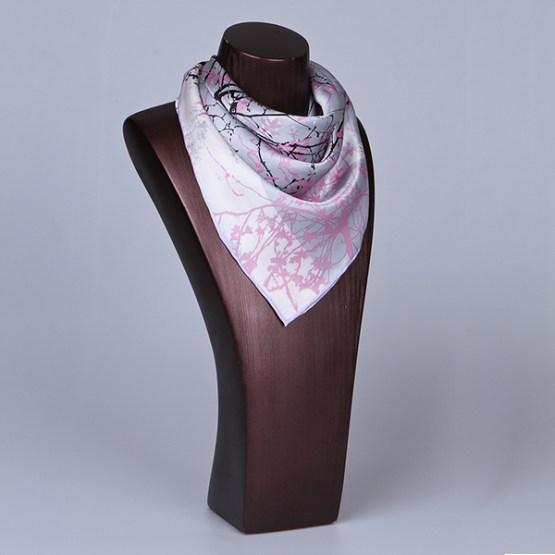 Square Silk Scarf-55CM Silk Scarf-Silk Scarf China- HHS07A3