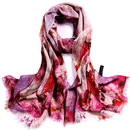 Wool Scarf-Digital Wool Scarf-DWS05