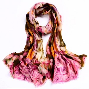 Wool Scarf-Digital Wool Scarf-DWS06