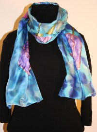 Buy Hand Painted Silk Scarves