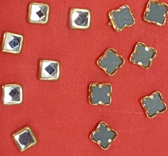 Kundan stones 4mm square