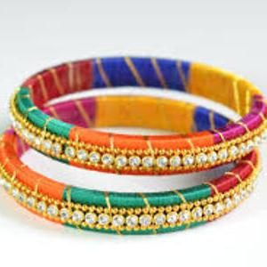 Multi colour bangles