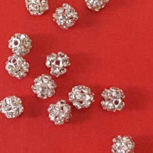 Stone balls silver