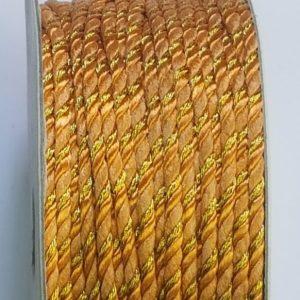 zari rope gold colour