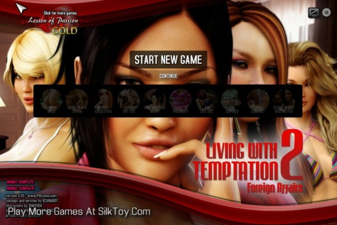 Living with Temptation 2 3d hardcore Game to play