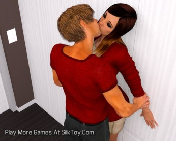 Lovely Guests 3D Porn game