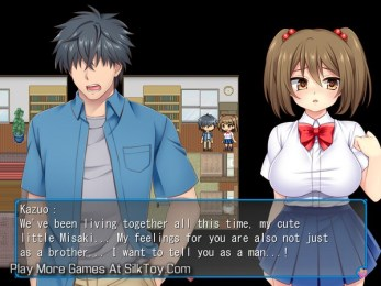 Netorare Imouto Misaki anime student porn game_6