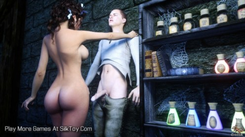 The Medicine Woman 3d realistic porn game_5