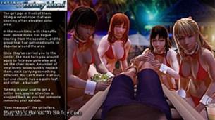 Interns of Ecstasy Island 3d porn