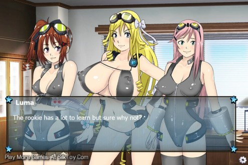 ARIA The Rookie Hentai Big Tits Anime Moms Game_9