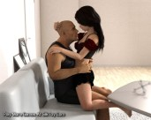 I Love Daddy Teen Sex With Step Father 3D_6