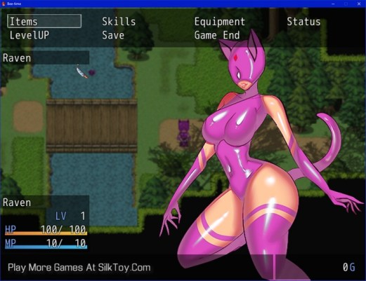 Latex Dungeon Animated Porn Game_10
