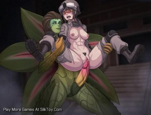Overgrown Genesis Anime Monster Sex_15
