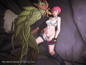 Overgrown Genesis Anime Monster Sex_8