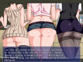 A Boy And His Perverted Oneesans' Happy H Apartment Life hentai gaming (2)