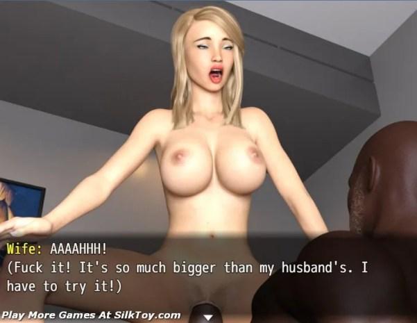 Black&White Photoshoot sex 3d game (1)