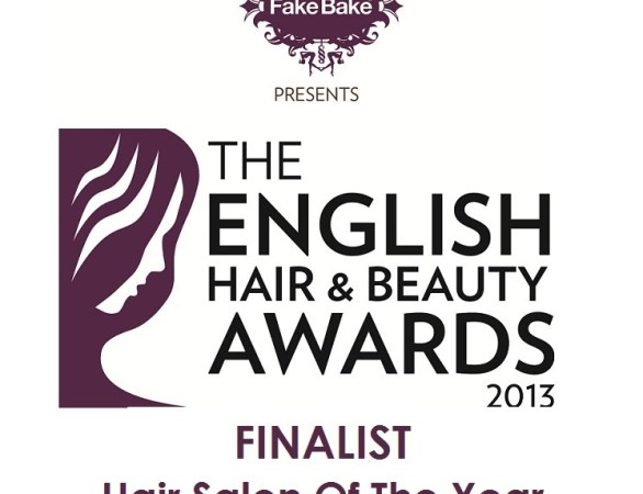 English Hair and Beauty Awards Hair Salon of the Year London 2013 Finalist