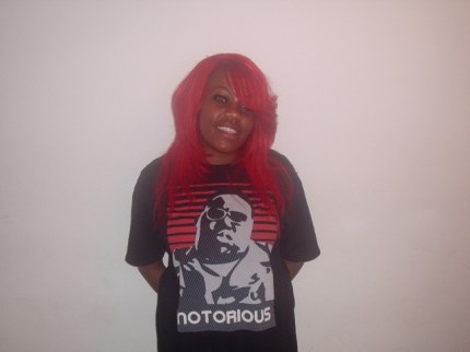 Feathered Red Weave (Front)