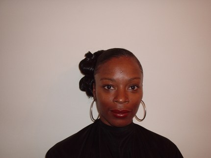 Wedding Hair Up Style - Front View