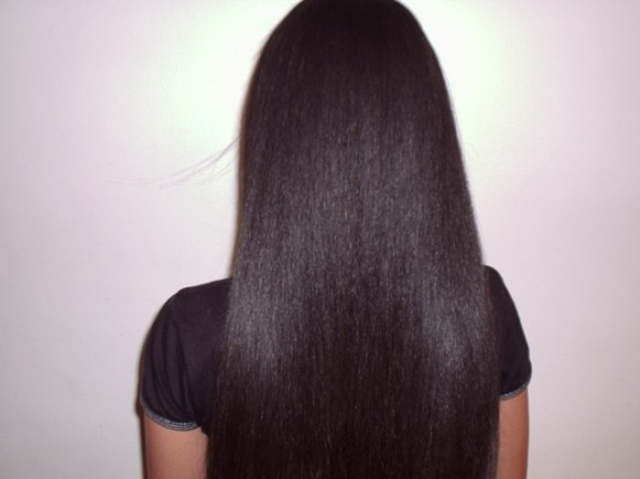 Brazilian Blow Out - Natural Mixed Race Hair (After) 3