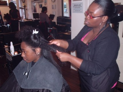 Academy Course - Natural Afro Hair Styling and Maintenance by Student