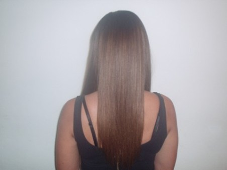 Half Head Weave (Back)
