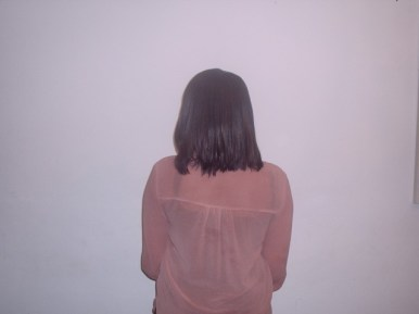 Full Head Shoulder Length Weave Back View (After)
