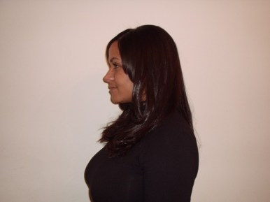 Long Weave Style - After (Side View)